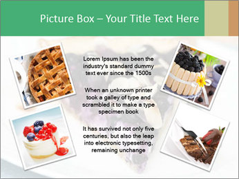 Berry Tart With Almond PowerPoint Template - Slide 24