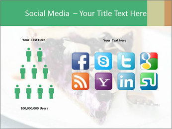 Berry Tart With Almond PowerPoint Template - Slide 5