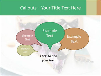 Berry Tart With Almond PowerPoint Template - Slide 73