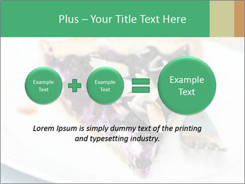 Berry Tart With Almond PowerPoint Template - Slide 75