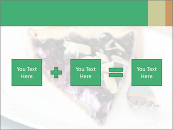 Berry Tart With Almond PowerPoint Template - Slide 95
