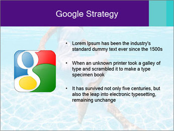 Bride Swimming In Pool PowerPoint Template - Slide 10