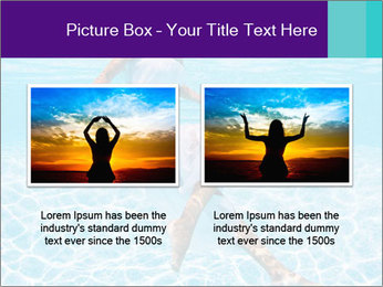 Bride Swimming In Pool PowerPoint Template - Slide 18