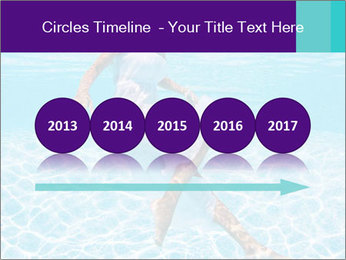 Bride Swimming In Pool PowerPoint Template - Slide 29