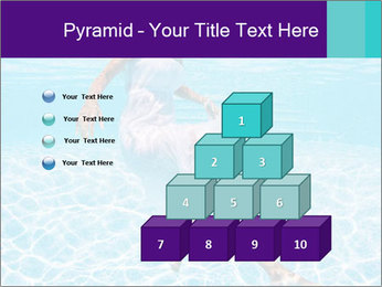 Bride Swimming In Pool PowerPoint Template - Slide 31