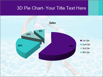 Bride Swimming In Pool PowerPoint Template - Slide 35