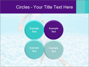 Bride Swimming In Pool PowerPoint Template - Slide 38