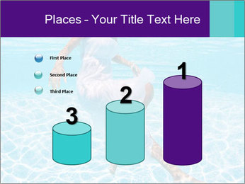 Bride Swimming In Pool PowerPoint Template - Slide 65