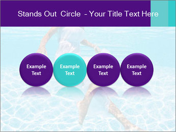 Bride Swimming In Pool PowerPoint Template - Slide 76