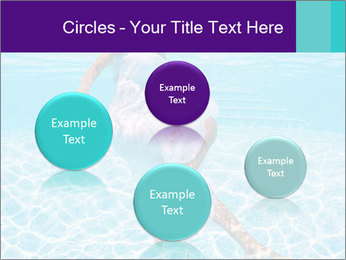 Bride Swimming In Pool PowerPoint Template - Slide 77