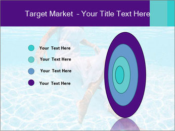 Bride Swimming In Pool PowerPoint Template - Slide 84