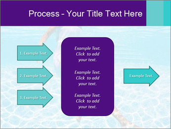 Bride Swimming In Pool PowerPoint Template - Slide 85
