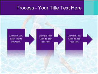 Bride Swimming In Pool PowerPoint Template - Slide 88