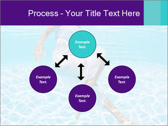 Bride Swimming In Pool PowerPoint Template - Slide 91