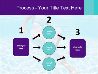 Bride Swimming In Pool PowerPoint Template - Slide 92