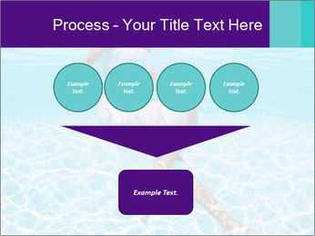 Bride Swimming In Pool PowerPoint Template - Slide 93