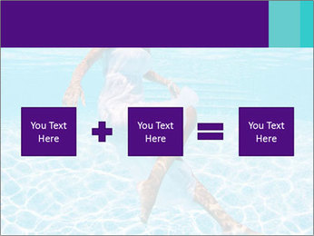 Bride Swimming In Pool PowerPoint Template - Slide 95
