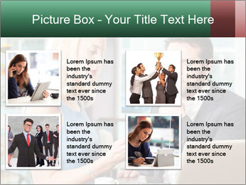 Colleagues In Cafe PowerPoint Templates - Slide 14