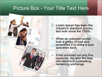 Colleagues In Cafe PowerPoint Templates - Slide 17