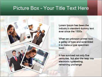 Colleagues In Cafe PowerPoint Templates - Slide 23