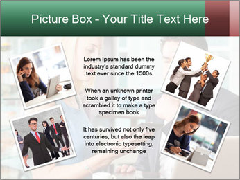 Colleagues In Cafe PowerPoint Templates - Slide 24