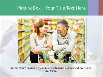 Fat Couple With Junk Food PowerPoint Template - Slide 16