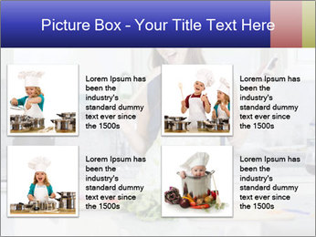 Happy Woman Cooking Lunch PowerPoint Template - Slide 14