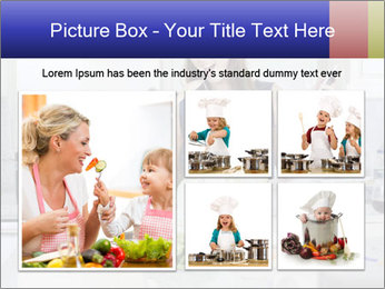 Happy Woman Cooking Lunch PowerPoint Template - Slide 19