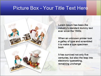 Happy Woman Cooking Lunch PowerPoint Template - Slide 23