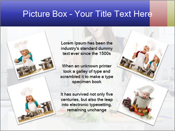 Happy Woman Cooking Lunch PowerPoint Template - Slide 24