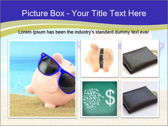 Pink Pig In Sunglasses PowerPoint Templates - Slide 19