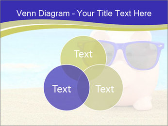 Pink Pig In Sunglasses PowerPoint Templates - Slide 33