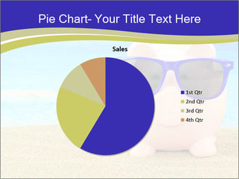 Pink Pig In Sunglasses PowerPoint Templates - Slide 36