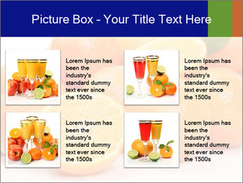 Sliced Oranges PowerPoint Templates - Slide 14