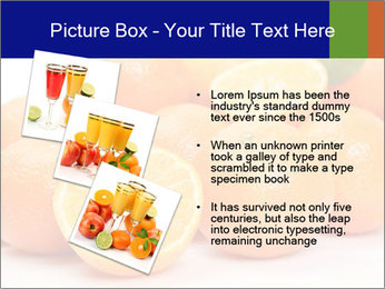 Sliced Oranges PowerPoint Templates - Slide 17