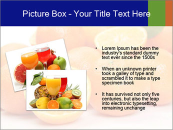 Sliced Oranges PowerPoint Templates - Slide 20