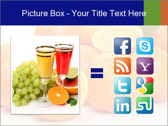Sliced Oranges PowerPoint Templates - Slide 21