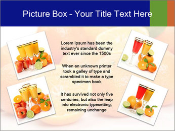 Sliced Oranges PowerPoint Templates - Slide 24