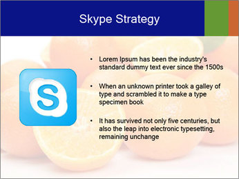 Sliced Oranges PowerPoint Templates - Slide 8
