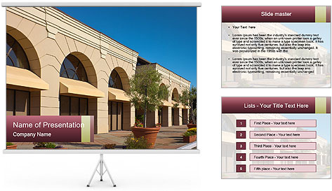 Contemporary Building PowerPoint Template