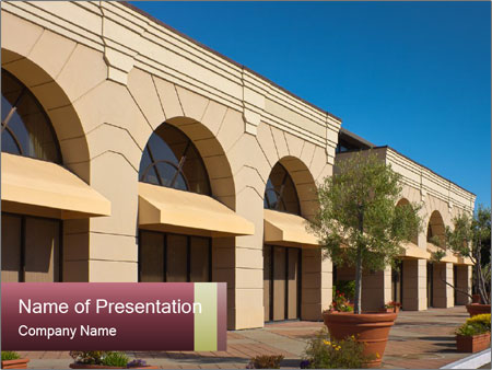 Contemporary Building PowerPoint Templates