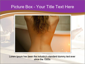 Relaxed Woman In Bath PowerPoint Templates - Slide 16