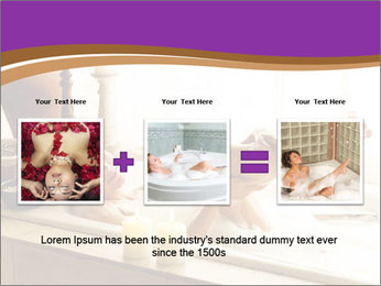 Relaxed Woman In Bath PowerPoint Templates - Slide 22