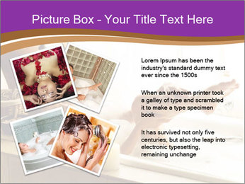 Relaxed Woman In Bath PowerPoint Templates - Slide 23