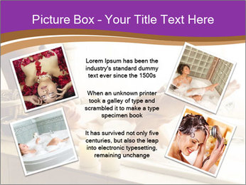 Relaxed Woman In Bath PowerPoint Templates - Slide 24