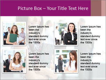 Smiling Office Manager PowerPoint Templates - Slide 14