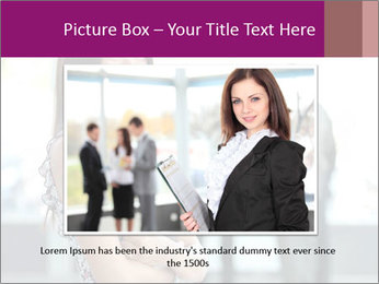 Smiling Office Manager PowerPoint Templates - Slide 16