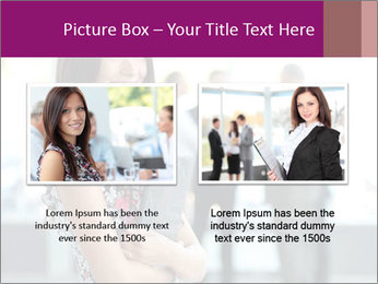 Smiling Office Manager PowerPoint Templates - Slide 18