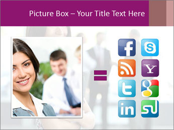 Smiling Office Manager PowerPoint Templates - Slide 21
