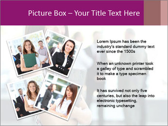 Smiling Office Manager PowerPoint Templates - Slide 23